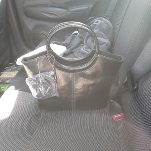 Black Fossil purse